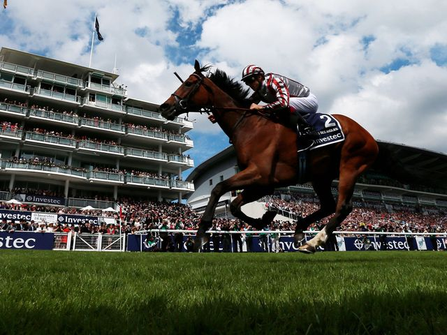 The remarkable Cirrus Des Aigles wins the Investec Coronation Cup at Epsom.