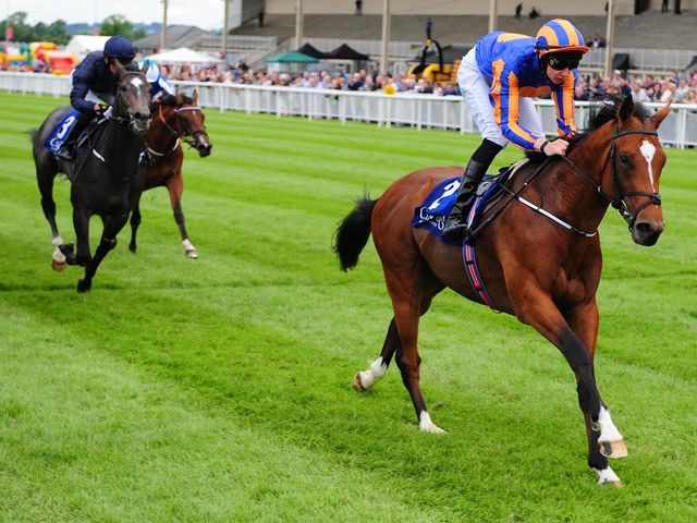Gleneagles: Impressive winner at the Curragh.