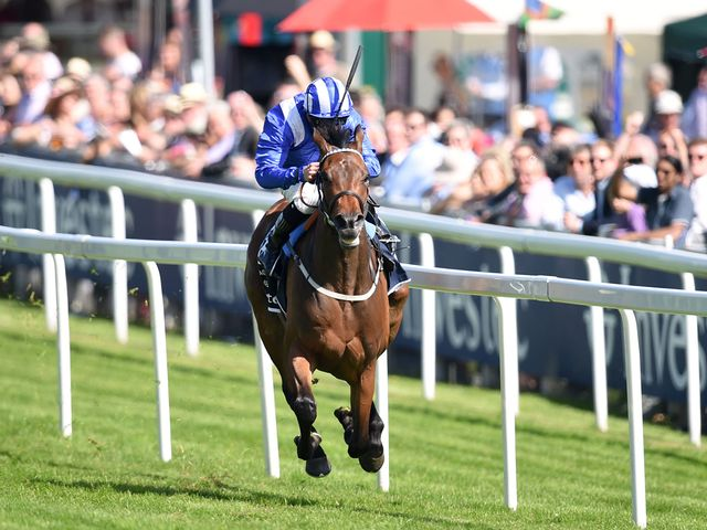 Taghrooda routed the field in the Investec Oaks