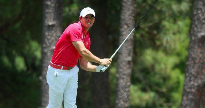 McIlroy: Won the US Open in 2011 having recorded a total of 131 over his first two rounds