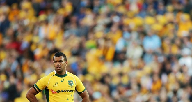 Kurtley Beale: Will start at fly-half against New Zealand