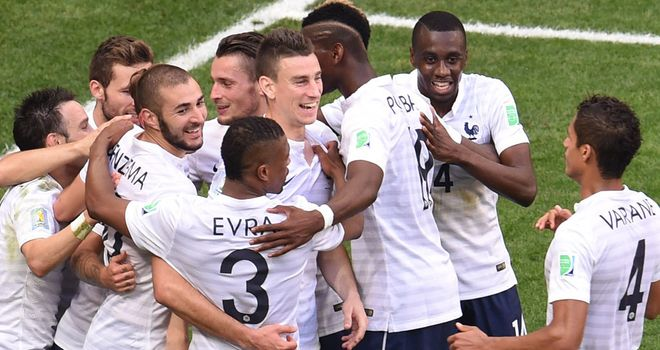 France: Marching on into the last eight