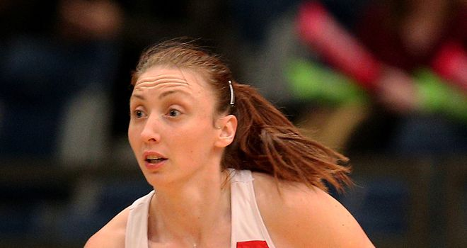 Jade Clarke: Captains England at the Commonwealth Games