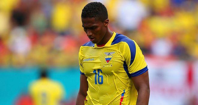 Antonio Valencia: Ecuador captain has apologised for his red card