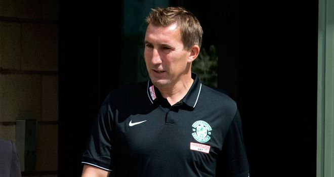 Alan Stubbs: Hibs manager saw his side defeated by Dundee United