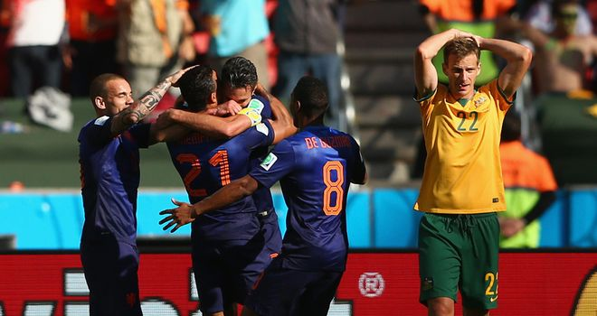 Netherlands: Celebration time as they see off Australia