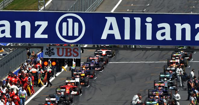 Standing starts: Set to feature more than once in races in 2015