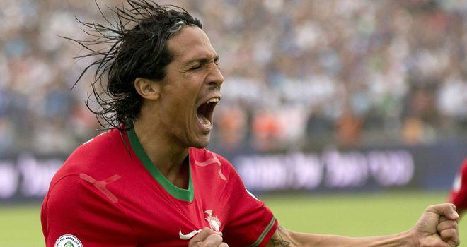 Bruno Alves: Headed the winner for Portugal against Mexico