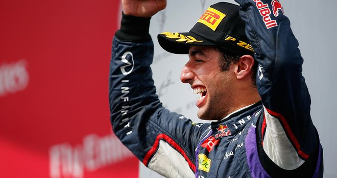 Daniel Ricciardo: Australia's fourth grand prix winner