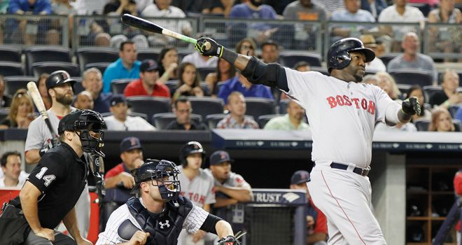 David Ortiz: Hit the 450th homer of his career