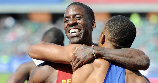 Dwain Chambers: Overcame the threat of his younger rivals