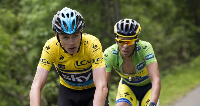 Chris Froome and Alberto Contador are the favourites for overall victory