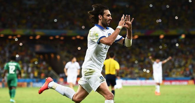 Georgios Samaras: Fired in the penalty to take Greece into the next round