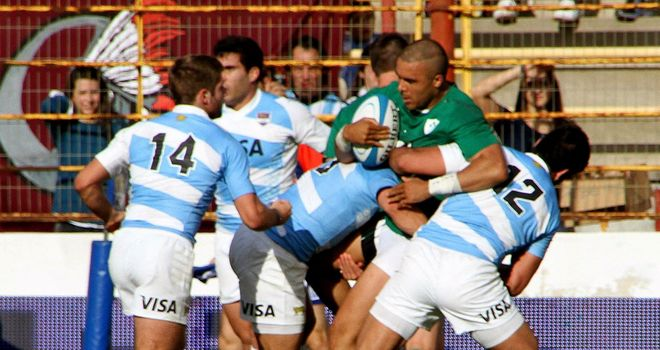 Simon Zebo: Helped Ireland claim the spoils in Argentina