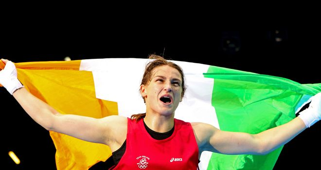 Katie Taylor: Wins Sportswoman of the month award