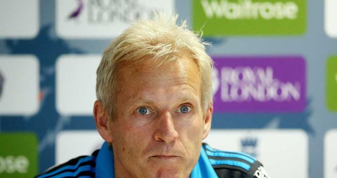 Peter Moores: Has admitted England need a frontline spinner