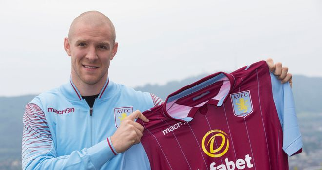 Philippe Senderos: Relishing the challenge ahead at Aston Villa