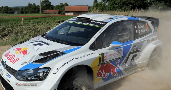 Sebastien Ogier: A minute clear with four stages left in Poland