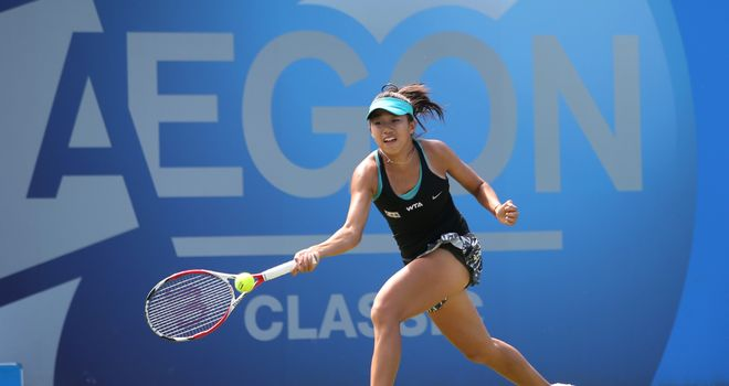 Zhang Shuai: Saw off Sloane Stephens in straight sets