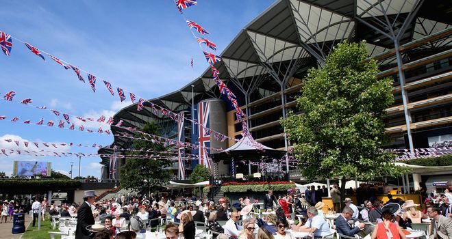 The weather has been favourable at Royal Ascot all week long.