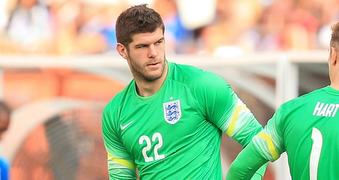 Fraser Forster: Has signed for Southampton