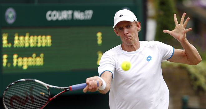 Kevin Anderson: Insists the pressure is on Andy Murray