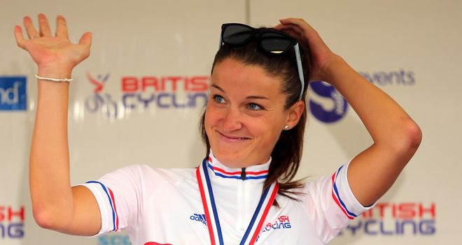 Lizzie Armitstead will look to defend her British road race title
