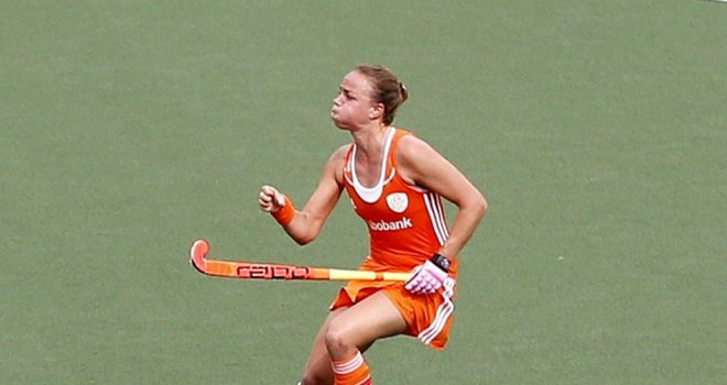 Maartje Paumen: Scored the first of two Dutch goals as the Netherlands won the Hockey World Cup