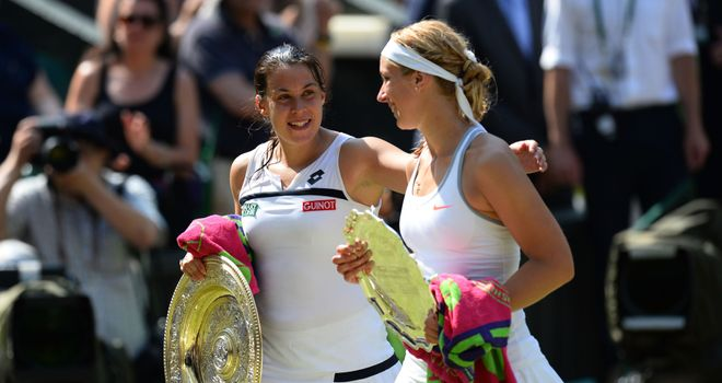 Marion Bartoli is backing Sabine Lisicki to impress