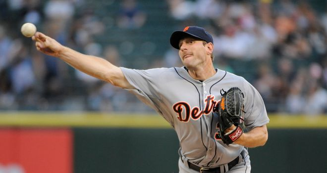 Max Scherzer: Registered his first career complete game