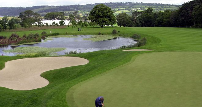 Fota Island is a 7,043-yard par 71 in Cork