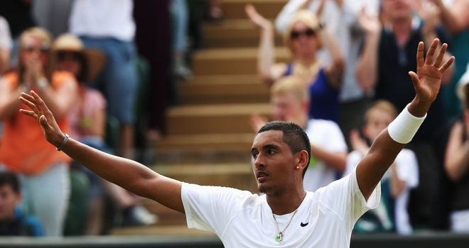 Nick Kyrgios: Wants a dream semi-final with Roger Federer