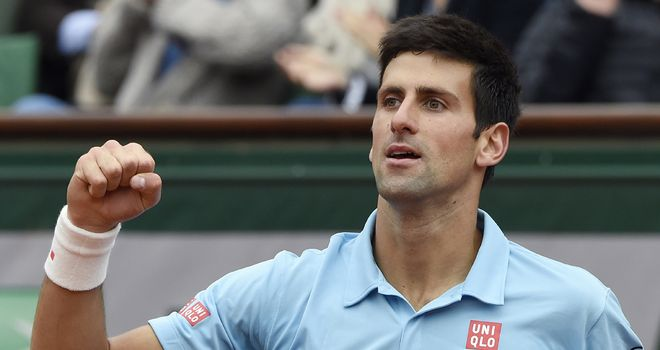 Novak Djokovic: Looking to book place in final at Roland Garros