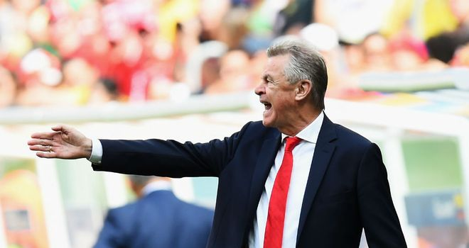 Ottmar Hitzfeld: Unhappy with Switzerland's 5-2 reverse at the hands of France