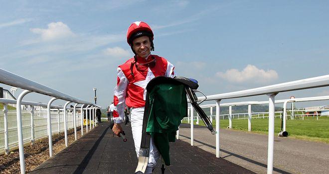 Jockey Raul Da Silva: Taken to hospital