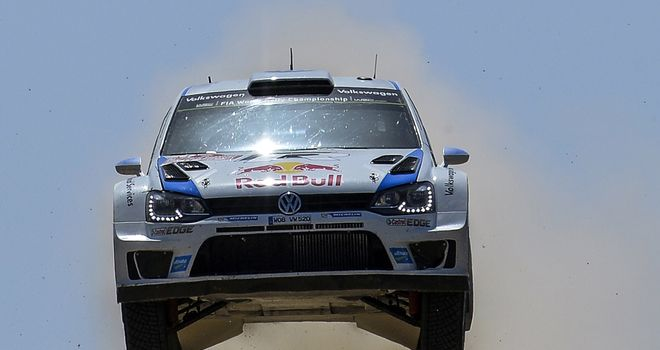 Sebastien Ogier: Leading Rally Italia Sardegna