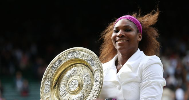 Serena Williams: Last won the Wimbledon title in 2012