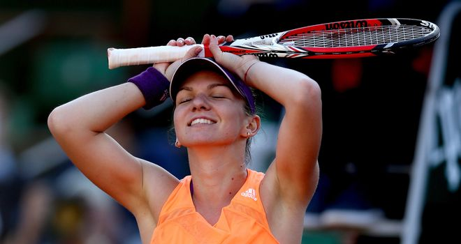 Simona Halep: Will now face Maria Sharapova in Saturday's final in Paris