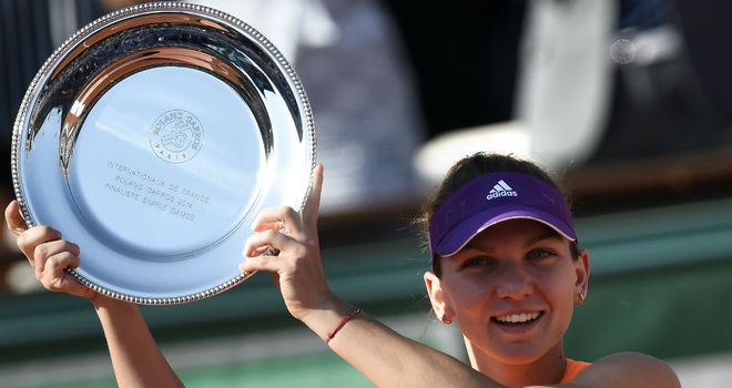 Romania's Simona Halep is leading the charge of young female tennis players