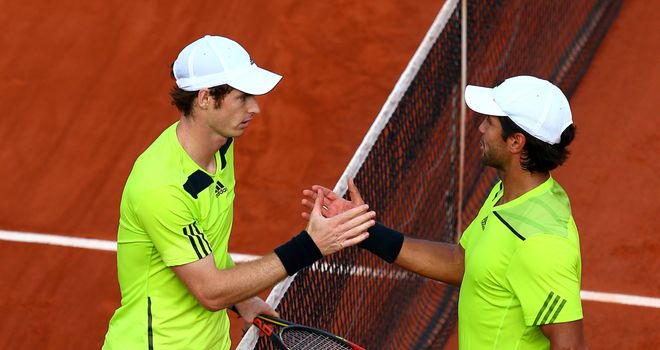 Andy Murray and Fernando Verdasco: British No 1 advanced in straight sets