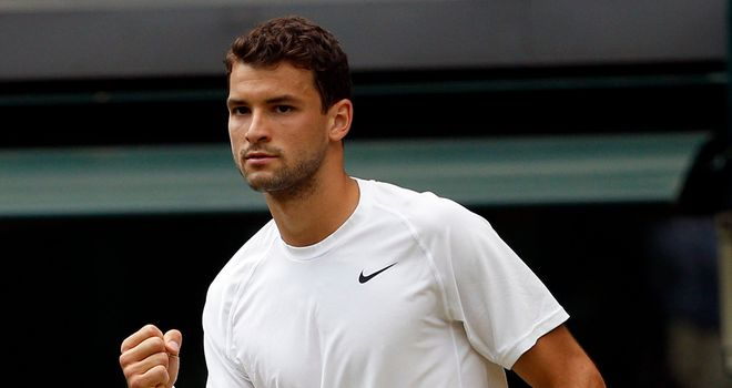 Grigor Dimitrov: Will not be overawed by meeting with home favourite Andy Murray