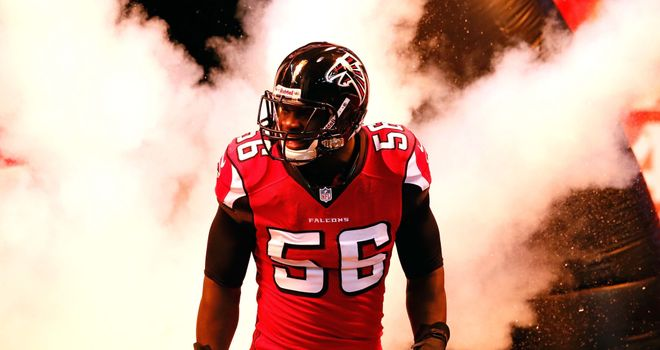 Sean Weatherspoon: Injury rules Falcons linebacker out for season