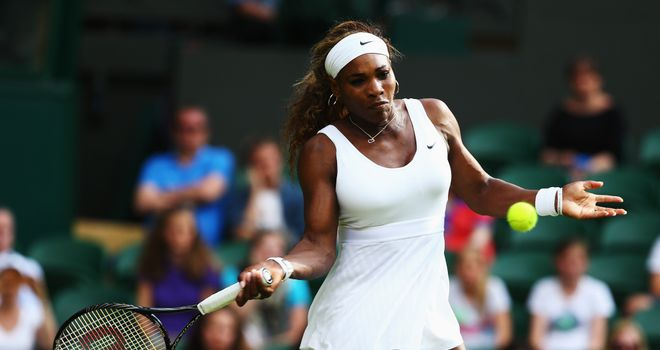Serena Williams: Had no problems in reaching second round of Wimbledon