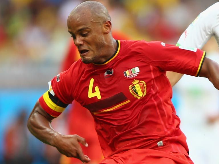 Vincent Kompany: Missed a Belgium training session