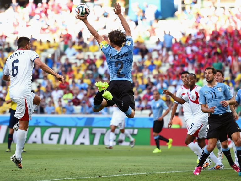 Diego Lugano: Won't feature against England