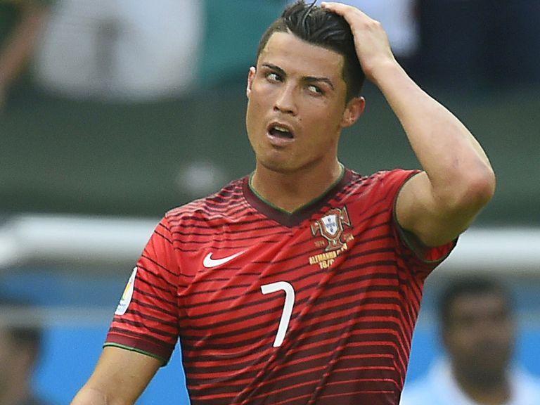 Cristiano Ronaldo: Cutting a frustrated figure for Portugal