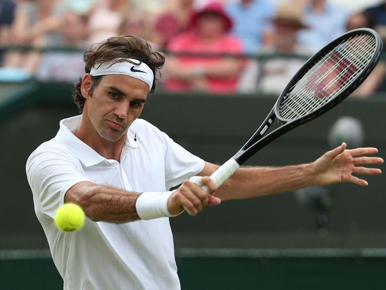 Roger Federer: Easy win