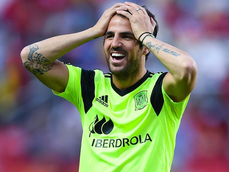 Cesc Fabregas: Signed a five-year deal with Chelsea