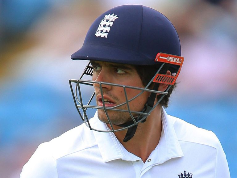 Alastair Cook's captaincy is under scrutiny