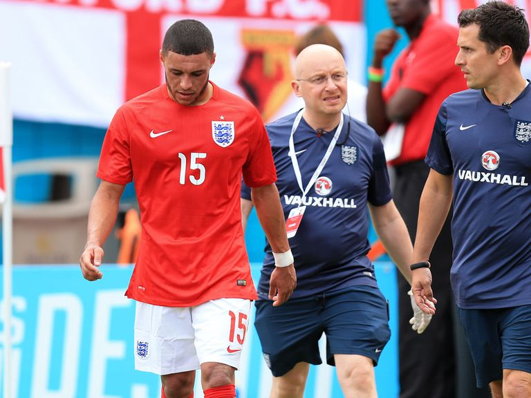 Alex Oxlade-Chamberlain: Injury concern for England